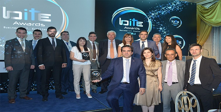 Η Υδρόγειος στα Business IT Excellence Awards 2014