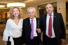 Αναστάσιος Κασκαρέλης, Πρόεδρος Δ.Σ. με τους κ.κ. Χαρά Χήτα και Γεώργιο Αντωνίου, Υποκατάστημα Ιωαννίνων