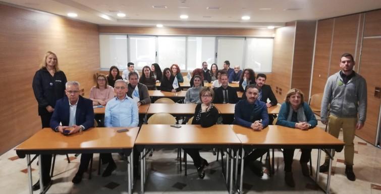 Συνάντηση με την Emfasis Foundation στα κεντρικά γραφεία της Υδρογείου Ασφαλιστικής